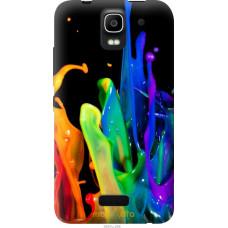 Чехол на Huawei Ascend Y3C брызги краски