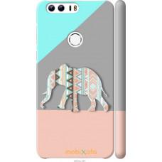 Чехол на Huawei Honor 8 Узорчатый слон
