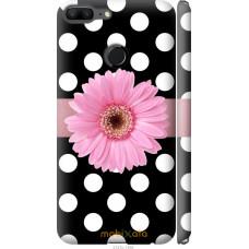 Чехол на Huawei Honor 9 Lite Цветочек горошек v2
