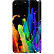 Чехол на Huawei P10 брызги краски