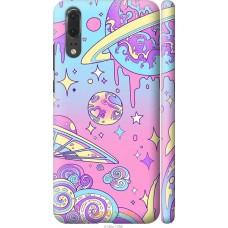 Чехол на Huawei P20 'Розовый космос
