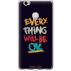 Чехол на Huawei Honor Note 8 Everything will be Ok