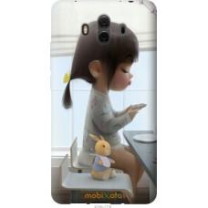 Чехол на Huawei Mate 10 Милая девочка с зайчиком