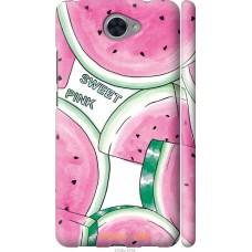 Чехол на Huawei Y7 2017 Розовый арбузик