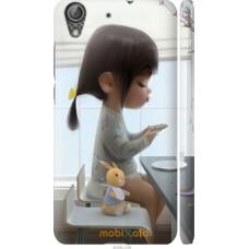 Чехол на Huawei Y6 II Милая девочка с зайчиком