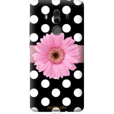 Чехол на Huawei Mate 10 Pro Цветочек горошек v2