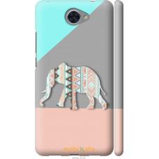 Чехол на Huawei Y7 2017 Узорчатый слон