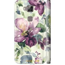 Чехол на Huawei G8 Акварель цветы
