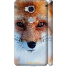 Чехол на Huawei Honor 5X Рыжая лисица