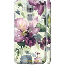 Чехол на Huawei Nova Plus Акварель цветы