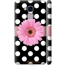 Чехол на Huawei Honor 5C Цветочек горошек v2