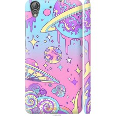 Чехол на Huawei Y6 II 'Розовый космос