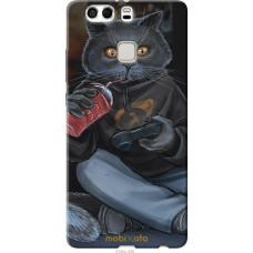 Чехол на Huawei P9 Plus gamer cat