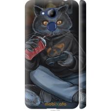Чехол на Huawei Honor 6C Pro gamer cat