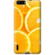 Чехол на Huawei Honor 6 Plus Апельсинки
