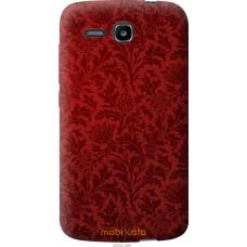 Чехол на Huawei Ascend Y600 Чехол цвета бордо