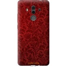 Чехол на Huawei Mate 10 Pro Чехол цвета бордо