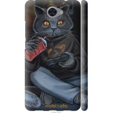 Чехол на Huawei Y7 2017 gamer cat