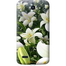 Чехол на Huawei G730 Лилии белые