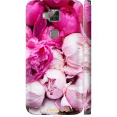 Чехол на Huawei G7 Plus Розовые цветы