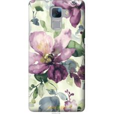 Чехол на Huawei Honor 7 Акварель цветы