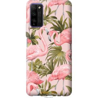 Чехол на Huawei Honor 30 Lite фламинго 2