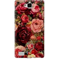 Чехол на Huawei Honor 3C Прекрасные розы