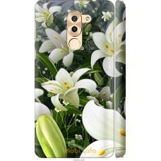 Чехол на Huawei Mate 9 Lite Лилии белые