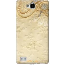 Чехол на Huawei Honor 3C 'Мягкий орнамент