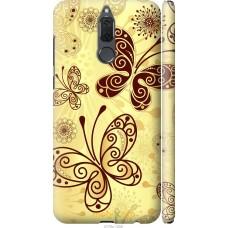 Чехол на Huawei Mate 10 Lite | Honor 9i Рисованные бабочки