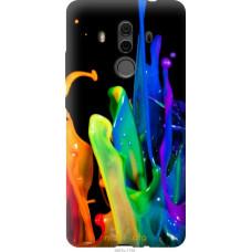 Чехол на Huawei Mate 10 Pro брызги краски