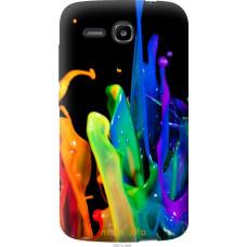 Чехол на Huawei Ascend Y600 брызги краски