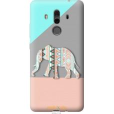 Чехол на Huawei Mate 10 Pro Узорчатый слон