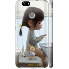 Чехол на Huawei Nova Милая девочка с зайчиком