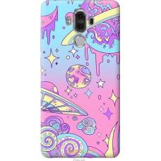 Чехол на Huawei Mate 9 'Розовый космос
