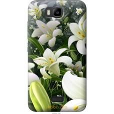 Чехол на Huawei Ascend Y5C Лилии белые