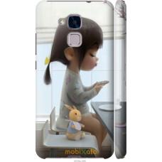 Чехол на Huawei GT3 Милая девочка с зайчиком