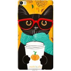 Чехол на Huawei P8 Max Осенний кот