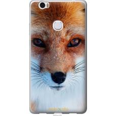 Чехол на Huawei Honor Note 8 Рыжая лисица