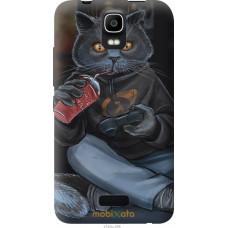 Чехол на Huawei Ascend Y3C gamer cat