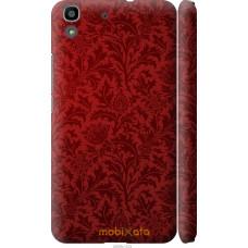 Чехол на Huawei Y6 Чехол цвета бордо