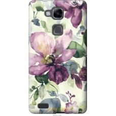 Чехол на Huawei Ascend Mate 7 Акварель цветы