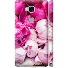 Чехол на Huawei Honor 5X Розовые цветы