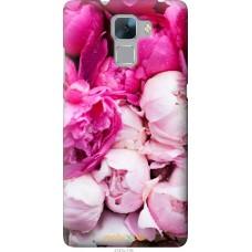Чехол на Huawei Honor 7 Розовые цветы