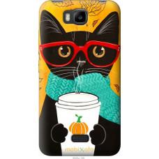 Чехол на Huawei Ascend Y5C Осенний кот