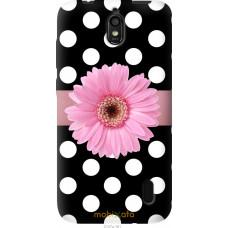 Чехол на Huawei Ascend Y625 Цветочек горошек v2