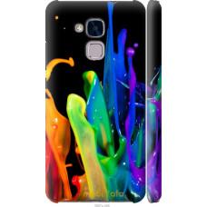 Чехол на Huawei Honor 5C брызги краски
