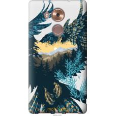 Чехол на Huawei Mate 8 Арт-орел на фоне природы