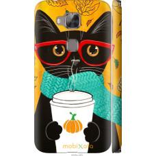 Чехол на Huawei G8 Осенний кот