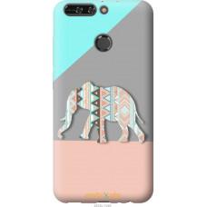 Чехол на Huawei Honor V9 | Honor 8 Pro Узорчатый слон
